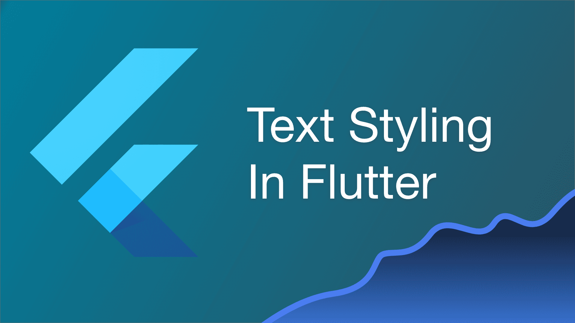 A Guide to Text Styling in Flutter cover image