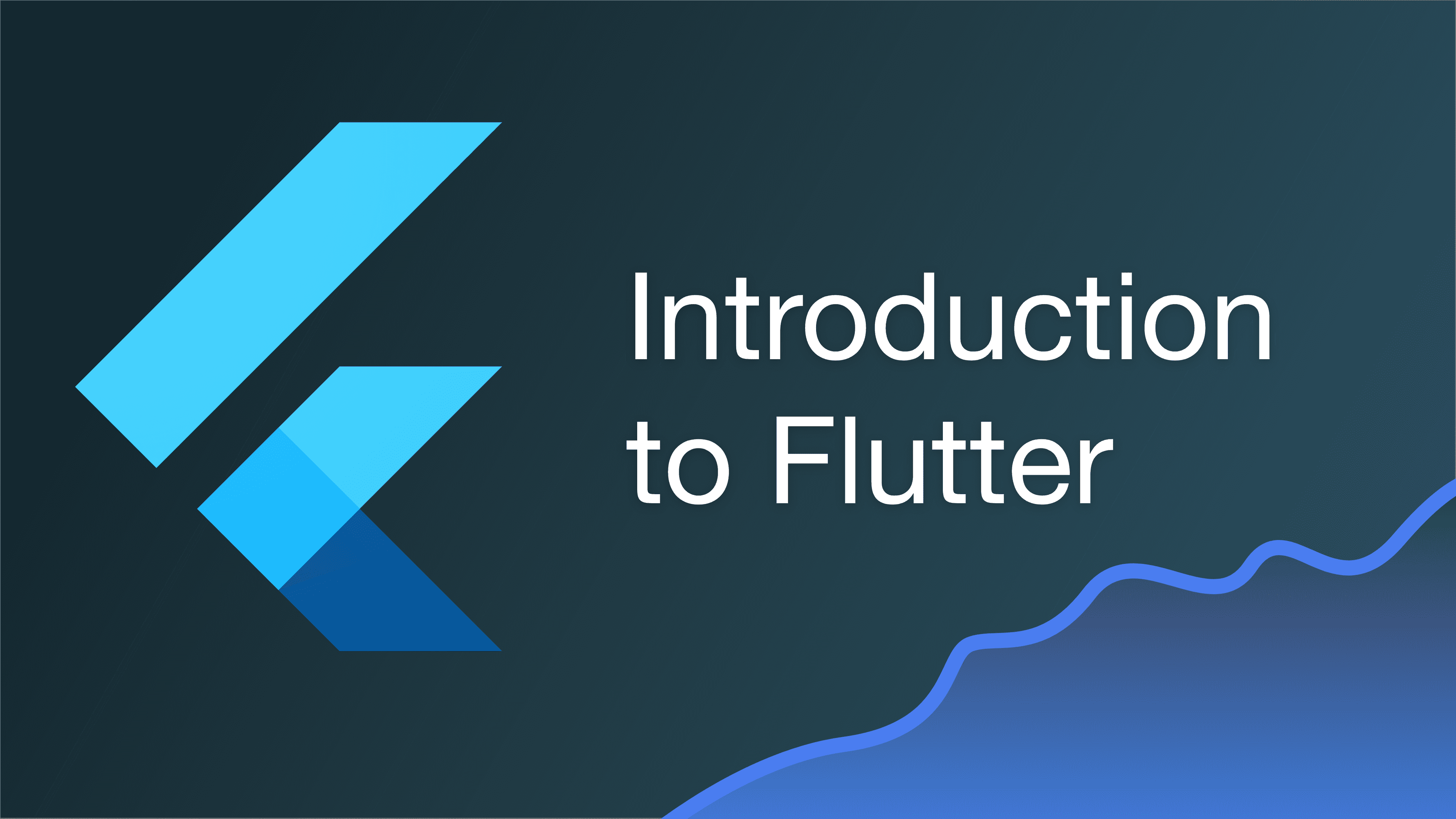 An Introduction to Flutter cover image